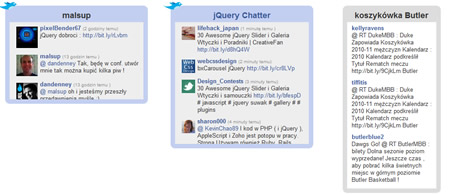 jQuery Twitter Search Plugin
