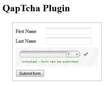 QapTcha - jQuery Plugin