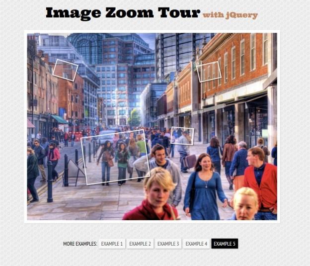 image zoom tour